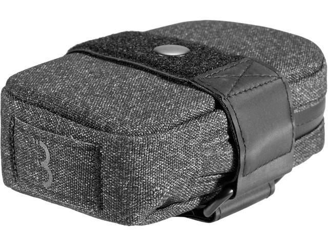 BBB Compacked Bolsa de Sillín S, negro/gris